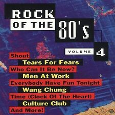 Rock of the '80s, Vol. 4 by Various Artists (CD, Jul-1993, Priority Records)