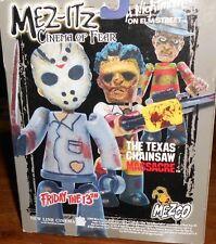 halloween Mez-Itz Cinema of Fear - Freddy, Jason, Leatherface figures in box