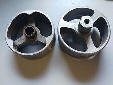 """COPPIA di ruote in alluminio 4-1/4"""""""