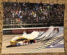Joey Logano Signed 8x10 Photo NASCAR autograph COA
