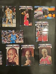 Michael Jordan China Sat & Phone Line International Prepaid Phone Cards (105)