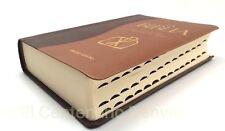 La Biblia- Libro del Pueblo de Dios con Covertor Simil Piel Dos Tonos -Catolica