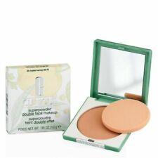 CLINIQUE Super Powder Double Face Makeup 04 MATTE HONEY .35 OZ/10g NEW IN BOX