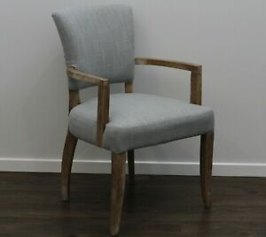 New Hampton Designer Dining / Occasional Chair Fabric Cover Timber Frame Arms