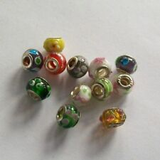 Beads Charms aus Glas in Silber