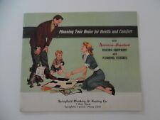 American-Standard Plumbing Fixtures Catalog 1950 Bathroom Kitchen - vt Vermont