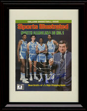 Meeks Block! Sports Illustrated Autograph Replica Print Framed North Carolina Tar Heels 2017 National Champs