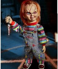 Childs Play - 2 Ft Bump 'N Go Chucky Animatronics Doll Figure Prop NEW Halloween
