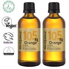 Olio di Arancio Dolce - Olio Essenziale Puro al 100% - 2x100ml Aromaterapia