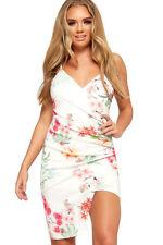 Asymmetric Floral Regular Size Dresses for Women