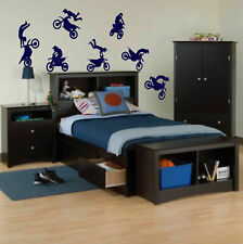 ik226 Wall Decal Sticker Decor motocross moto sport bike sport race speed