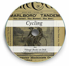 Rare Cycling Books Magazine on DVD Bicycle Pedal Bike Tricycle History Repair D1