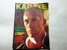 ANCIEN MAGAZINE KARATE N° 15 DE 1975- CARRADINE-  BRUCE LEE   - ANNEES 70 *