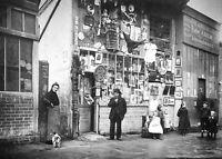 """Photographie,  """"Le Marché-aux-Puces de St-Ouen"""", 1921        /      15 x 20"""