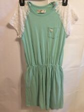 Abercrombie Kids Girls 9/10 Dress Lace Sleeves And Pockets
