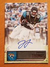 2016 Prestige Autographs #61 Julius Thomas Jacksonville Jaguars TE