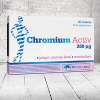 Olimp Chrom Activ 200 µg Chromium Proper level of Glucose Metabolis