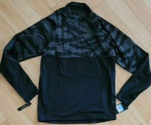 Nike Pullover Therma Shield Strike Soccer Drill Men's 1/4 Zip size Medium