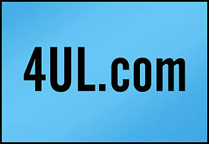 4UL.COM  ----3 Letter Character  Domain Name --- NLL----