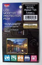 Kenko HQ LCD Protection Film - Fits Canon T2i