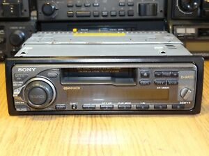 Sony XR-5890R Vintage 90s Classic Cassette Car Stereo Warranty MP3 Refurbished