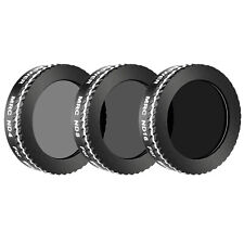 Neewer 3 Pieces Neutral Density Filter Kit ND4 ND8 ND16 for DJI Mavic Air Drone