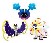 Pokemon Center Lunala Solgaleo Cosmog Plush Doll Stuffed Soft Toy Sun and Moon