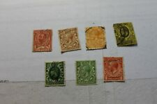 Vintage Lot of Used Great Britain Postage Stamps Lot 659 Free Ship