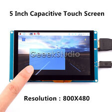 5 Inch 800*480 Capacitive Touch Screen LCD Display For Raspberry Pi  2/3/B+ & PC