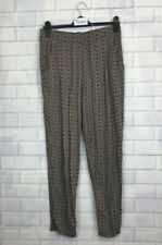 🍄 M&S 🍄 Printed Jersey Casual Trousers Uk 12