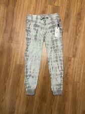 NWT $99 Anthropologie Marrakech Pants Ankle Cargo Jogger Tie Dye Green Gray - XL