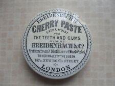 BREIDENBACH'S CHERRY PASTE STONEWARE CERAMIC OLD POT LID