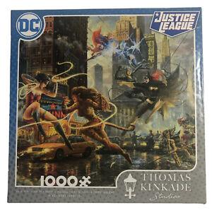 DC Comics Justice League Women of DC 1000pc Puzzle w/Poster CEACO-Thomas Kinkade