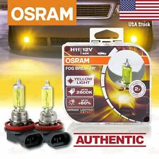 2x H11 711 OSRAM Fog Breaker DuoBox YELLOW Spot Bulbs 2600K Lamps for LOW BEAM