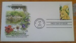 First day of issue, 2013 Honoring La Florida, Scott # 4751