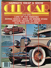 Old Car Illustrated Magazine November 1977 Cars Of The Twenties EX 060916jhe