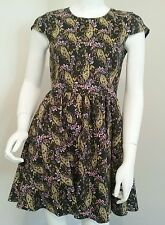 Ladies Angel Biba paisley dress size 12 festival boho summer