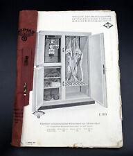 alter Warenkatalog WUMAG Görlitz um 1930 Fleischer, Reklame