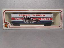 "Bachmann HO Scale ""BUDWEISER CLYDESDALES""  51'  Box Car"