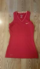 Nike Pro Womens Shirt Sleeveless V-Neck Top Small Pink Extremely Nice Dri Fit