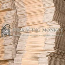 """25 x Small Brown Cardboard Mailing Packing Boxes 4x4x4"""""""