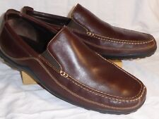 Cole Haan UK15 RRP $169 EUC brown leather great quality and style