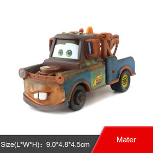 Disney Pixar Car Race Team Mater Diecast Toy Model Car 1:55 Loose Gift