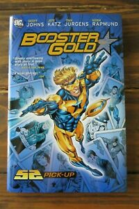BOOSTER GOLD 1 52 PICK-UP HC DC COMICS VERY RARE OOP