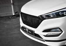 M&S Front Hood Radiator Grille UNPainted For 2016 2017 Hyundai Tucson
