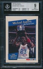 1991-92 Hoops All-Star MVP's #IX Michael Jordan BGS 9 Mint