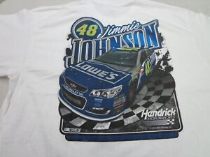 NASCAR Jimmie Johnson #48  Lowes Racing T-Shirt Size  2XL  New