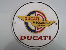 DUCATI Cast Metal SIGN Meccanica Bologna cruiser paul smart diavel cucciolo (cm)