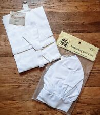 *Nwt* Chef's Set: Kitchensmart Apron + Linens N Things Professional Chef'S Hat