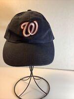 ⚾️Washington Nationals Embroidered MLB Adjustable Baseball Hat/Cap~ Blue